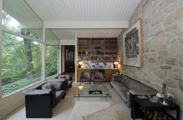 On the Market: Go Chase Waterfalls In This Home Of Glass And Mirrors