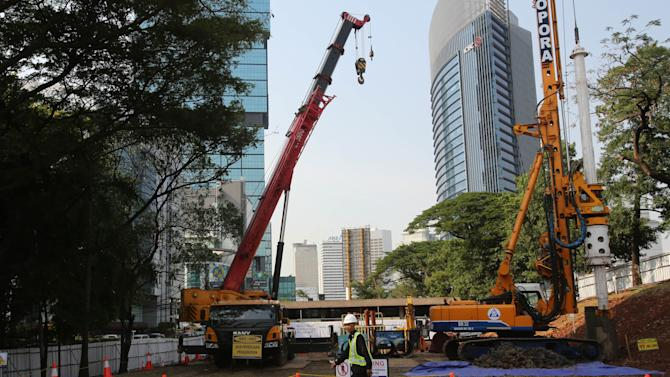 Work on rail network for Indonesia capital begins