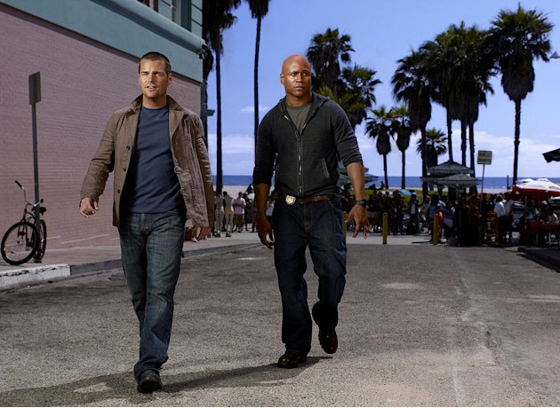 "Chris O'Donnell stars as Agent ""G"" Callen and LL Cool J stars as Special Agent Sam Hanna in ""NCIS: Los Angeles."""