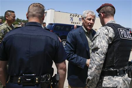 Hagel begins first trip to Latin America as U.S. defense chief