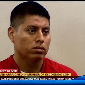 Husband arraigned in murder of Escondido cop