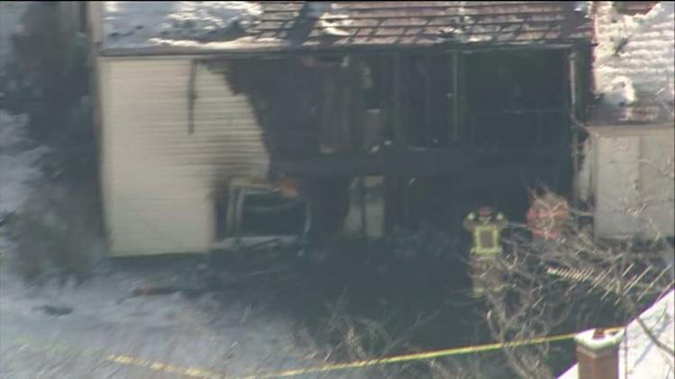 RAW: Aerial view of fatal Naperville fire