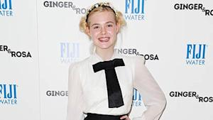 Elle Fanning's School-Girl Inspired Look