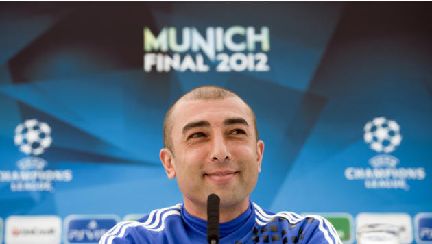 Chelsea's Interim Coach Roberto Di Matteo Smiling AFP/Getty Images
