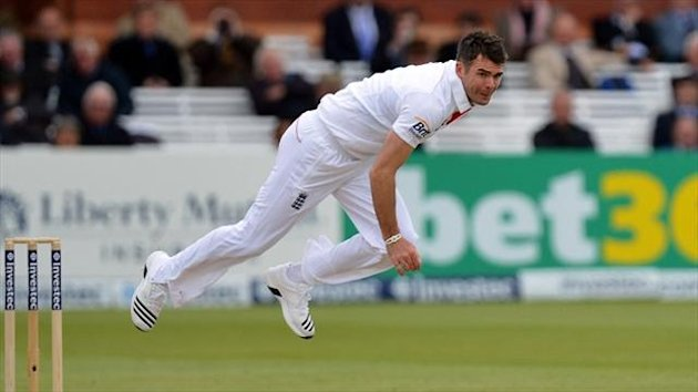 James Anderson put England in a strong position at Lord's