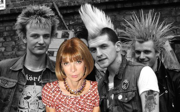 Anna Wintour, Accidental Punk Icon
