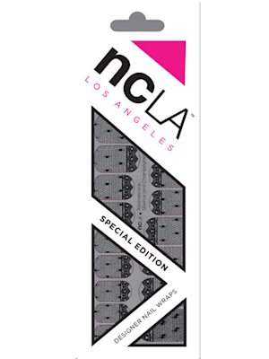 NCLA Roomservice: Stilettos and Champagne! Nail Wrap Kit