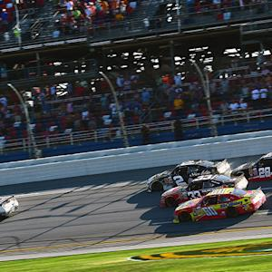 Top five describe final laps of Winn-Dixie 300