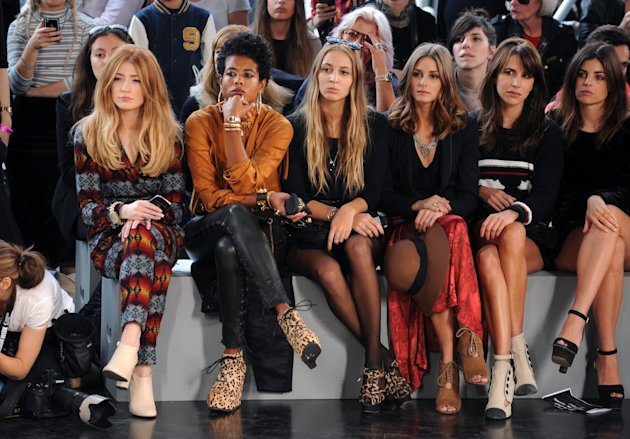 front row topshop unique london