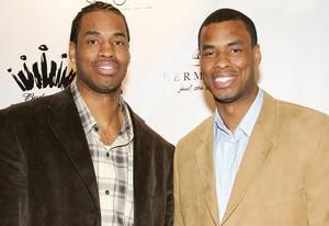 Jason Collins, Jarron Collins | Photo Credits: Ethan Miller/Getty Images.