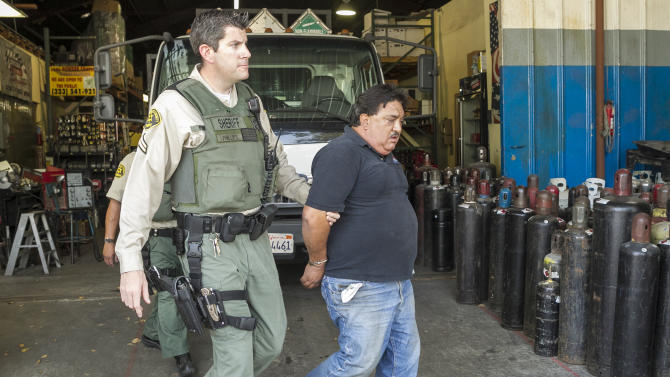 Feds raid 17 Calif. businesses for nitrous oxide