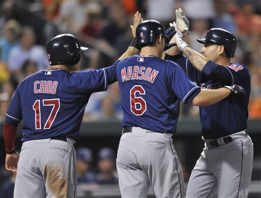 Indians beat Orioles 7-2 to end 5-game skid