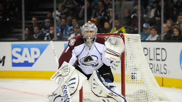 NHL: Colorado Avalanche at San Jose Sharks