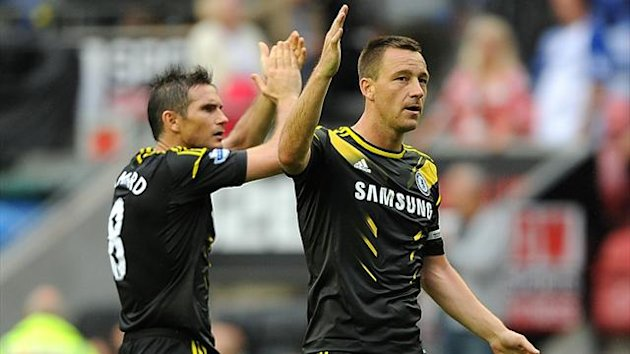 Chelsea's Frank Lampard (left) and John Terry (PA Sport)