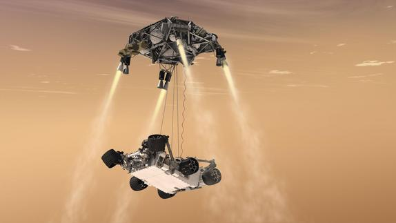 Daring Mars Rover Landing Has High Stakes for NASA