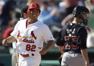 Beltran, Wong lift Cards split squad over Braves