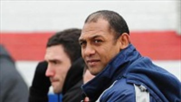 Alan Hunte takes charge of Salford for the second time against Warrington on Friday night