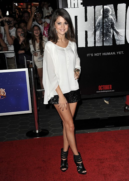 the thing LA Premiere 2011 Selena Gomez
