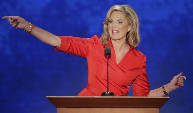 Ann Romney, wife of U.S. Republican …