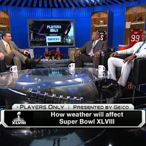 'Players Only': How will weather affect the Super Bowl?