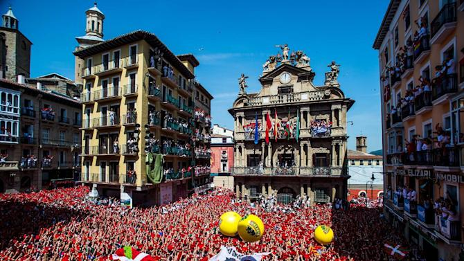 San Fermin Running of the Bulls 2015 - Day 1