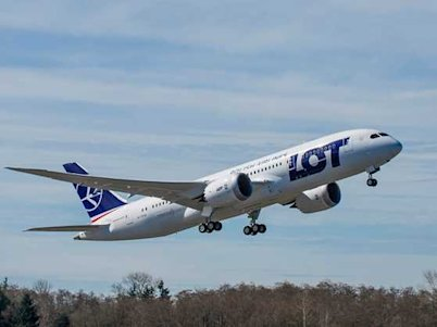 boeing 787 dreamliner polish lot test flight march 25, 2013