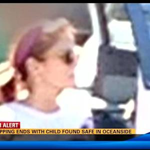 Kidnapping ends with child found safe in Oceanside