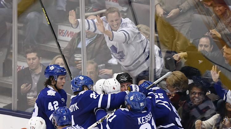 NHL: Ottawa Senators at Toronto Maple Leafs