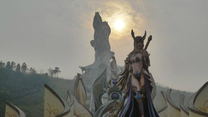 Come for a Tour of China's Unlicensed 'World of Warcraft' Theme Park