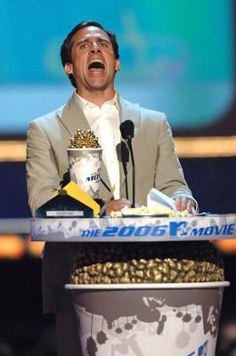 Steve Carell Best Comedic Performance The 40-Year-Old Virgin MTV Movie Awards - 6/3/2006