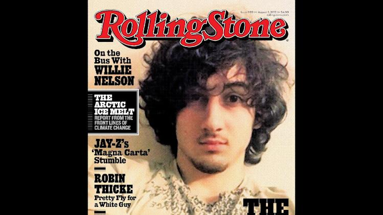 "In this magazine cover image released by Wenner Media, Boston Marathon bombing suspect Dzhokhar Tsarnaev appears on the cover of the Aug. 1, 2013 issue of ""Rolling Stone."" (AP Photo/Wenner Media)"