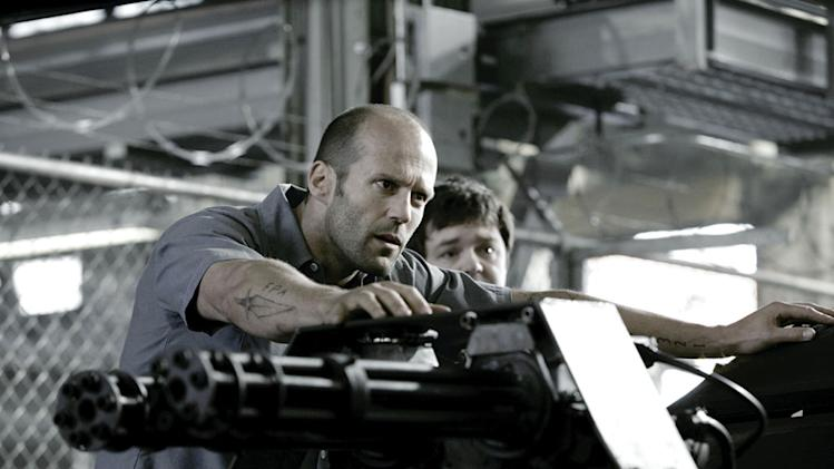 Jason Statham Fred Koehler Death Race Production Stills Universal 2008