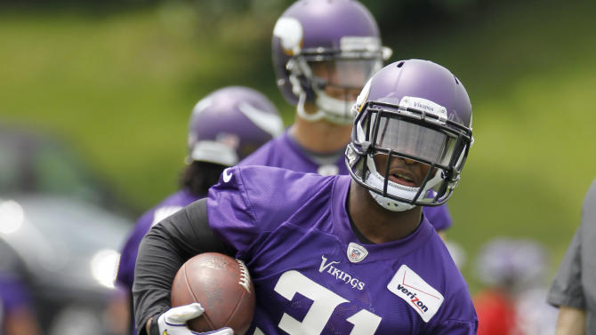 Vikings hope speedy rookie also a quick study