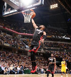 Wade, 3 others out again for Heat against Bucks