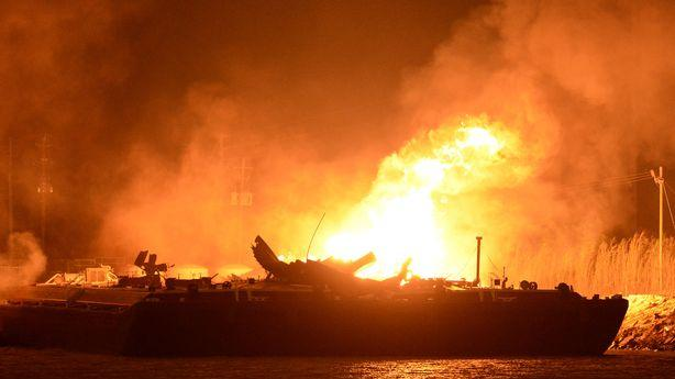 Barge Explosions Are a Reminder of the Dangers Involved in Transporting Fossil Fuels
