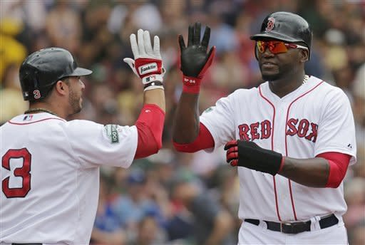 Romero's wildness helps Red Sox top Blue Jays 10-4