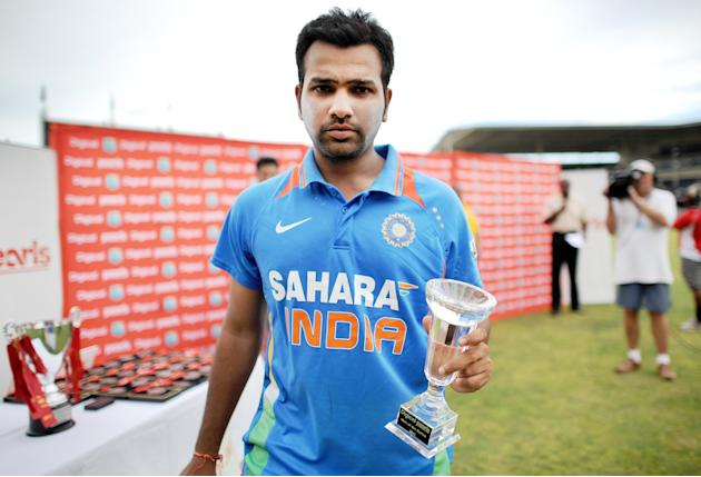 Indian cricketer and Man of the Series R