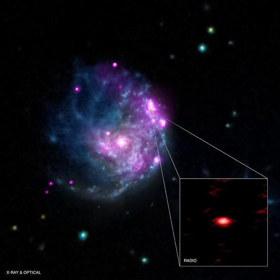 Rare 'Missing Link' Black Hole Apparently Found