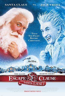 Tim Allen and Martin Short in Disney's The Santa Clause 3: The Escape Clause