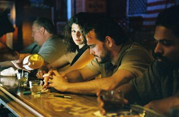 Marisa Tomei and Matt Dillon in IFC Films' Factotum