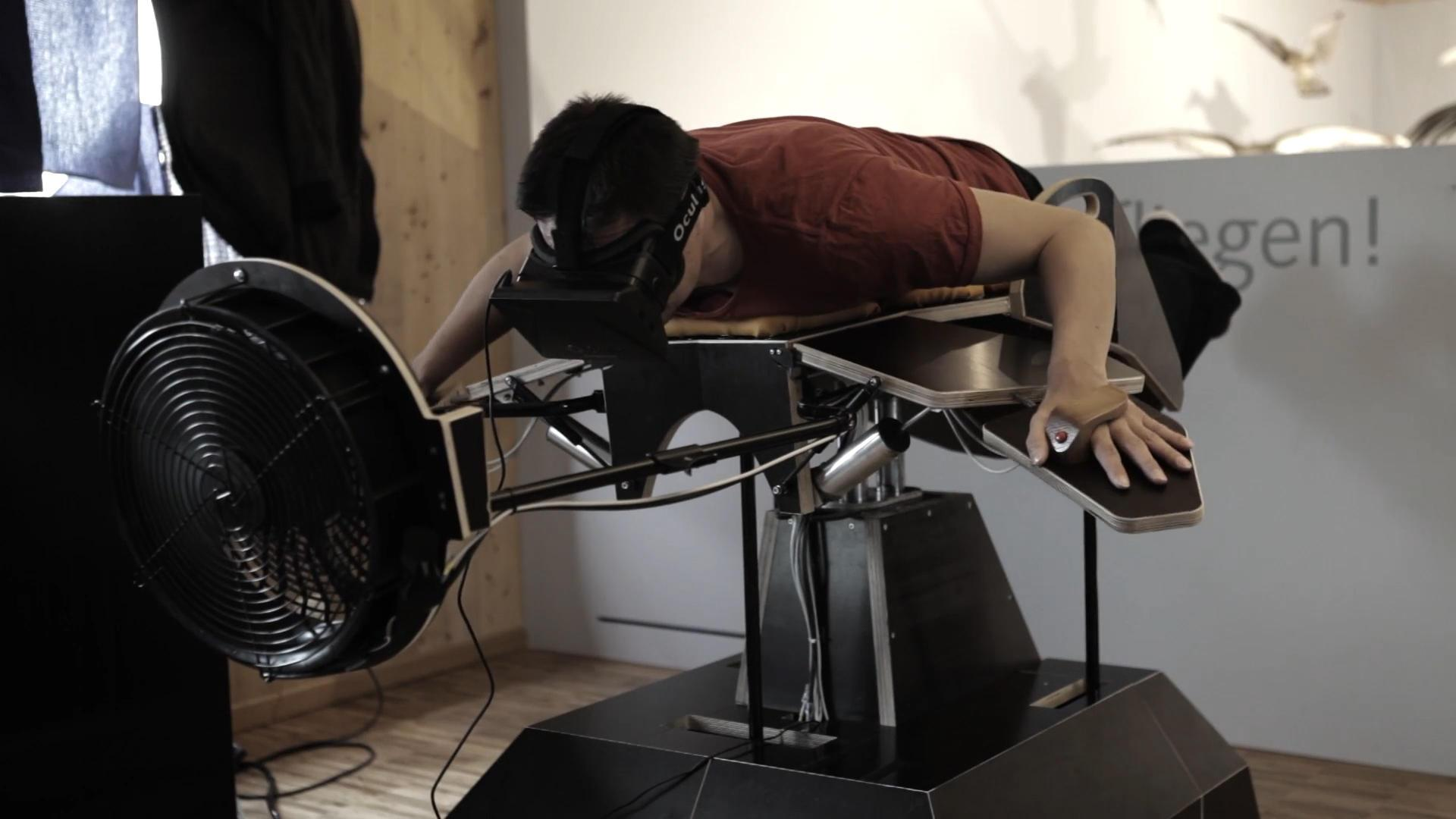 Birdly uses VR, a fan and your flapping arms to simulate flight (Tomorrow Daily 151)