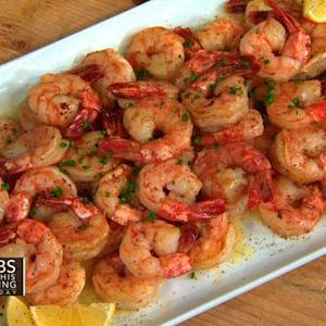 THE Dish: Chef David Kinch's ridgeback shrimp