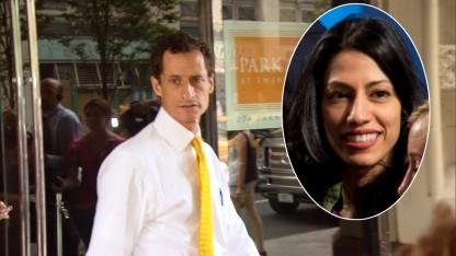 Anthony Weiner Reportedly Warned His Wife Huma That Raunchy Photos Were About to Be Leaked