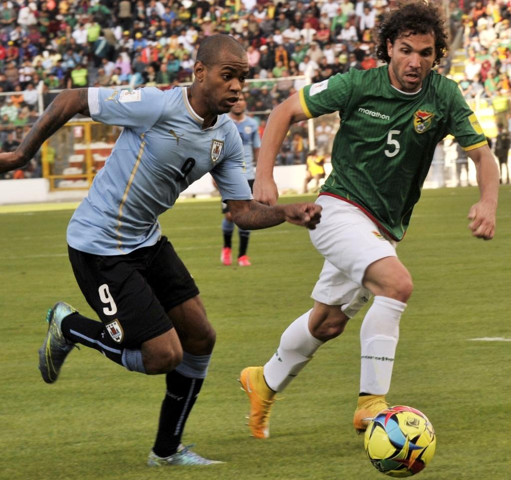 Uruguay grab first away win over Bolivia
