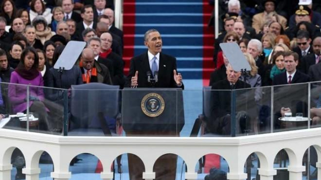 "President Obama made history on Jan. 21, becoming the first president to say the word ""gay"" in an inaugural address."
