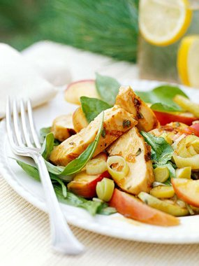 Ginger-Apple Chicken