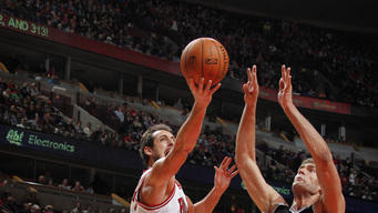 Noah, Bulls hold off Nets 83-82