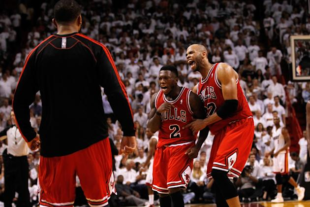 Chicago Bulls v Miami Heat - Game One