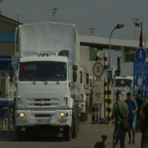Ukraine Calls Russian Convoy a 'direct Invasion'