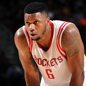 Rockets' Terrence Jones involved in car accident, out against Suns